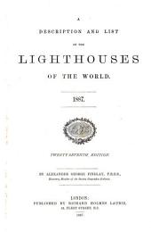 A Description and List of the Lighthouses of the World, 1887