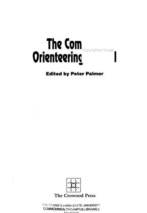 The Complete Orienteering Manual