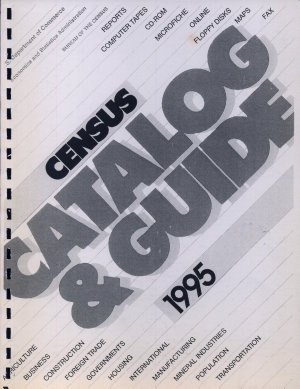 Census Catalog and Guide  1995 49th Ed  PDF