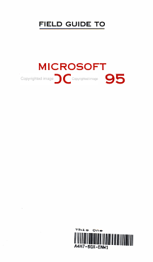 Field Guide to Microsoft Windows 95 PDF