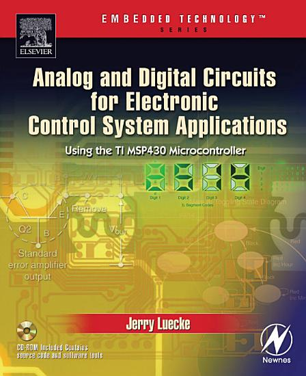Analog and Digital Circuits for Electronic Control System Applications PDF