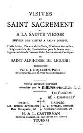 Visites au Saint-Sacrement et à la Sainte Vierge