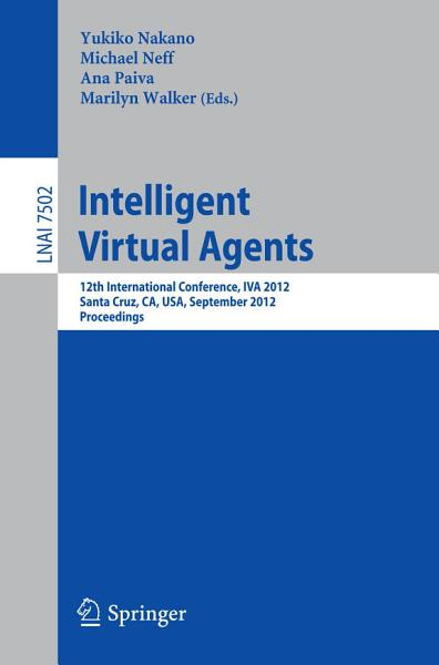 Download Intelligent Virtual Agents Book