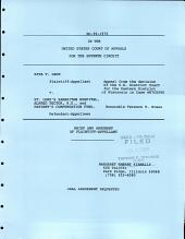 Lech V. St. Luke's Samaritan Hospital: Issues 90-1970