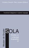 Functional Categories in Learner Language PDF