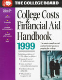 College Costs and Financial Aid Handbook  1999 PDF