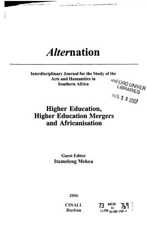 Alternation PDF