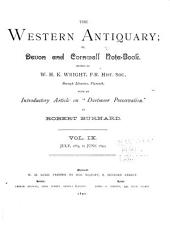 The Western Antiquary: Volume 9