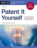 Patent it Yourself PDF