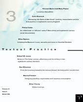 Luxurious Sexualities: Textual Practice Volume 11, Issue 3