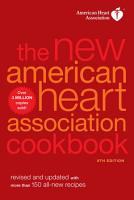 The New American Heart Association Cookbook  8th Edition PDF