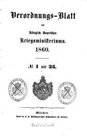 Verordnungs-Blatt: 1860