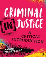 Criminal  In Justice PDF