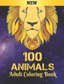 100 Animals Adult Coloring Book New PDF