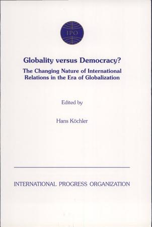 Globality Versus Democracy  PDF