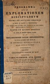 Observationes in Juvenalis satiram I.