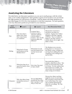 My Brother Sam Is Dead Leveled Comprehension Questions PDF