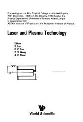 Laser And Plasma Technology Book PDF