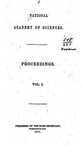 Proceedings: Volume 1