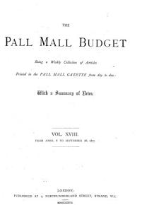 The Pall Mall Budget PDF