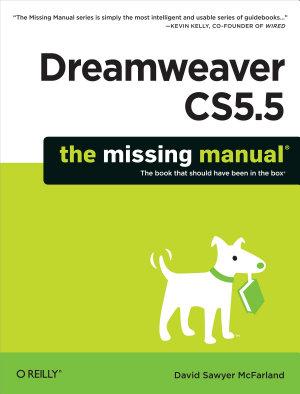 Dreamweaver CS5 5  The Missing Manual