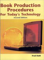 Book Production Procedures for Today's Technology