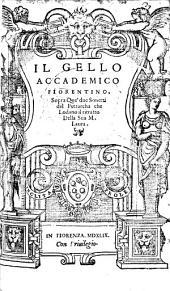 Sopra quei due sonetti del Petrarca che lodano il ritratto della sua M. Laura
