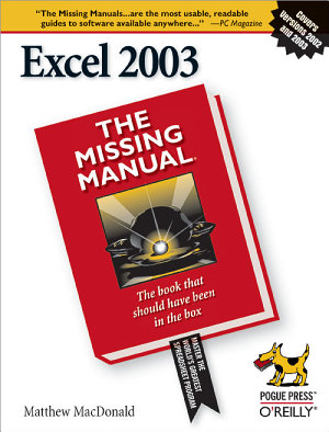 Excel 2003  The Missing Manual PDF