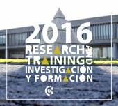 Research & Training 2016