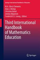 Third International Handbook of Mathematics Education PDF