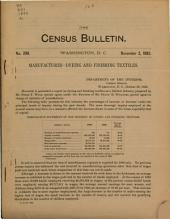 Census Bulletin: Issue 299