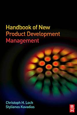 Handbook of New Product Development Management PDF