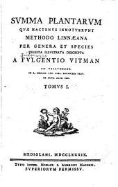 Summa plantarum: Volume 1