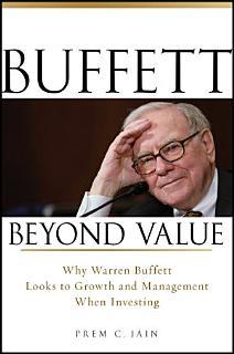 Buffett Beyond Value Book