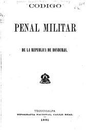 Código penal militar de la república de Honduras