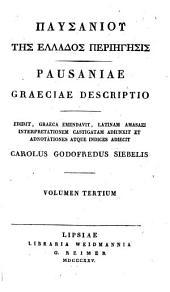 Pausaniae Graeciae Descriptio