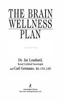 The Brain Wellness Plan PDF
