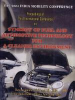 Proceedings of the third International Conference on Automotive and Fuel Technology PDF