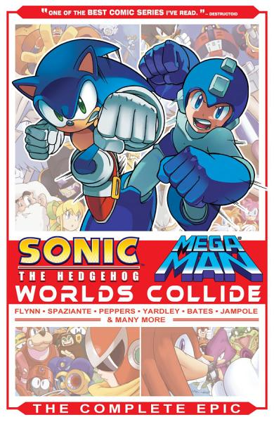 Sonic   Mega Man  Worlds Collide