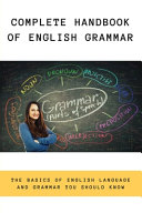 Complete Handbook Of English Grammar
