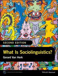 What Is Sociolinguistics  PDF