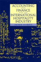 Accounting and Finance for the International Hospitality Industry PDF