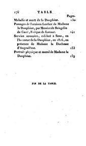 Vie de madame la Dauphine, mère de S. M. Louis XVIII