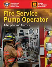 Fire Service Pump Operator: Principles and Practice
