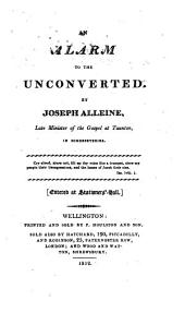An alarm to the unconverted. [ed. by J. Gilpin.].