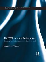 The WTO and the Environment PDF