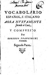 Vocabulario italiano e spagnolo: Volume 2