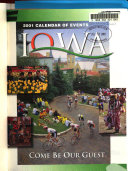 Iowa Calendar of Events Book