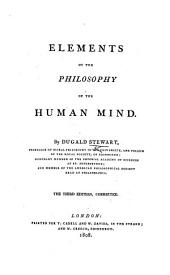 Elements of the Philosophy of the Human Mind ... The third edition, corrected