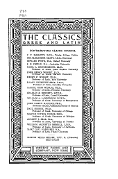 The Classics, Greek & Latin: Volume 12